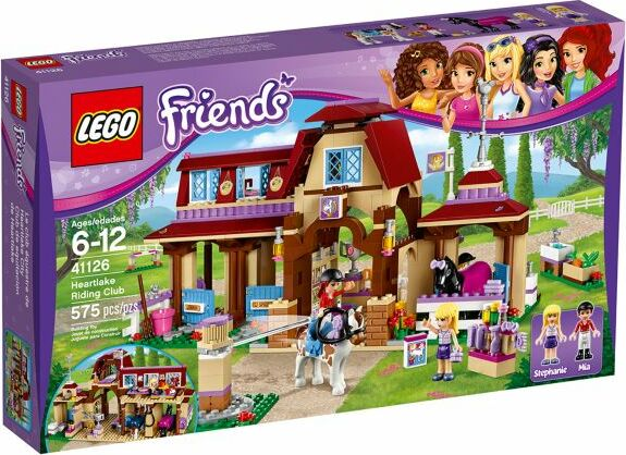 Lego Friends Heartlake Riding Club 41126 Starting From 5484