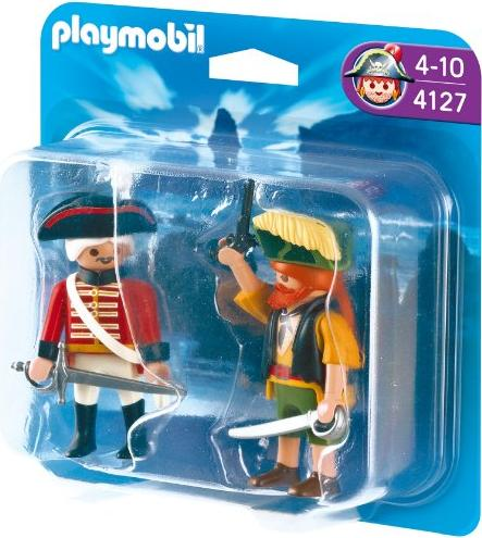 playmobil - Pirates - Duo Pack Pirat und Rotrock (4127) -- via Amazon Partnerprogramm