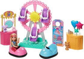 Mattel Barbie Chelsea Doll and Carnival Playset (GHV82)