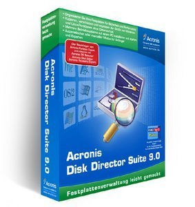Acronis: Disk Director Suite 9.0 (PC) (DD90DEB)