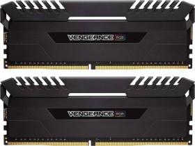 Corsair Vengeance RGB black DIMM kit 16GB, DDR4-3000, CL16-18-18-38 (CMR16GX4M2D3000C16)