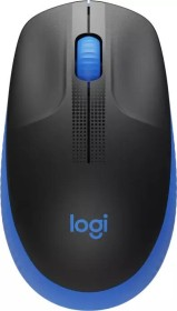 Logitech M190 Full-Size Wireless Mouse blau, USB (910-005907)