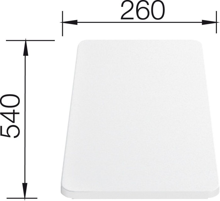 Blanco plastic cutting board (210521)