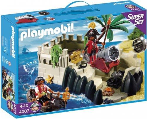 playmobil Pirates - SuperSet Piratenfestung (4007) -- via Amazon Partnerprogramm