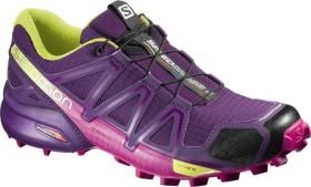 Salomon Speedcross 4 cosmic purple/deep dalhia/gecko green (Damen) (383103)