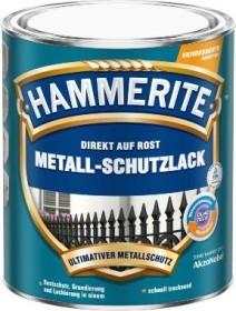 Hammerite Metallschutz-Lack Matt außen schwarz 2.5l Dose (5134939)