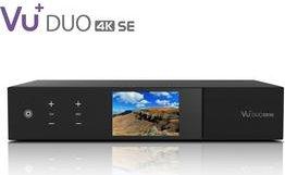 VU+ Duo 4K SE, 1x DVB-S2X FBC Twin, festplattenvorbereitet