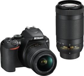 Nikon D3500 schwarz mit Objektiv AF-P VR DX 18-55mm und VR DX AF-P 70-300mm (VBA550K005)