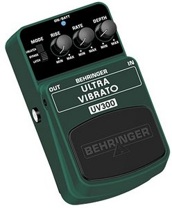 Behringer UV300 vibrato Effect pedal -- © Copyright 200x, Behringer International GmbH