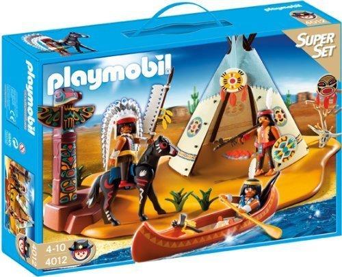 playmobil Western - SuperSet Indianerlager (4012) -- via Amazon Partnerprogramm