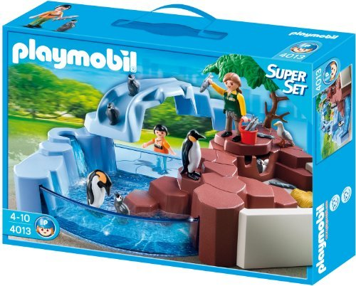 playmobil City Life - SuperSet Pinguinbecken (4013) -- via Amazon Partnerprogramm
