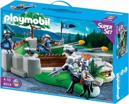playmobil Knights - SuperSet Ritterbastion (4014) -- via Amazon Partnerprogramm