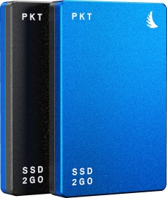 "Angelbird SSD2go PKT MK2 portable SSD blau 1TB, 2.5"", USB-C 3.1 (PKTU31MK2-1000BK)"