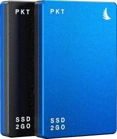 "Angelbird SSD2go PKT MK2 portable SSD blau 2TB, 2.5"", USB-C 3.1 (PKTU31MK2-2000BK)"