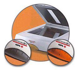 Agfa SnapScan e52, 1200x2400, 48bit, Durchlichteinheit, USB