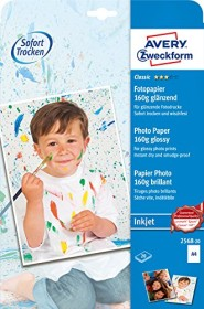 Avery-Zweckform Classic Inkjet photo paper glossy A4, 160g/m², 20 sheets (2568-20)