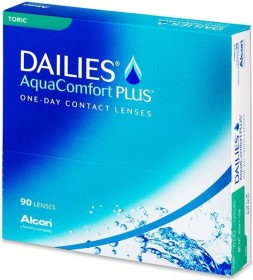 Alcon Dailies AquaComfort Plus Toric, +0.75 Dioptrien, 90er-Pack