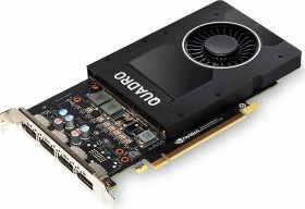 HP NVIDIA Quadro P2200, 5GB GDDR5X (6YT67AA/6YT67AT/R2U55C)