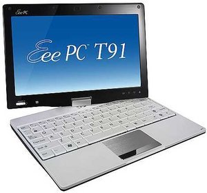 ASUS Eee PC T91 black, UK (T91-BLK020X)