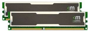 Mushkin Enhanced Silverline Stiletto DIMM Kit 2GB, DDR-400, CL3-3-3-8 (996754)