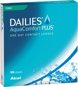 Alcon Dailies AquaComfort Plus Toric, +1.50 Dioptrien, 90er-Pack