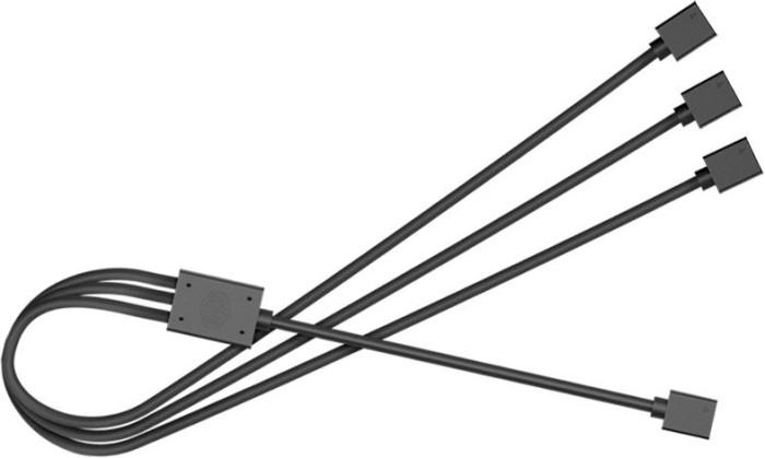 Cooler Master 4-Pin RGB Splitter Kabel 58cm, schwarz (R4-ACCY-RGBS-R2)