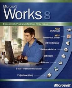 Microsoft Works 8.0 (PC) (various languages)