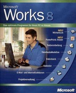 Microsoft Works 8.0 (PC) (verschiedene Sprachen)