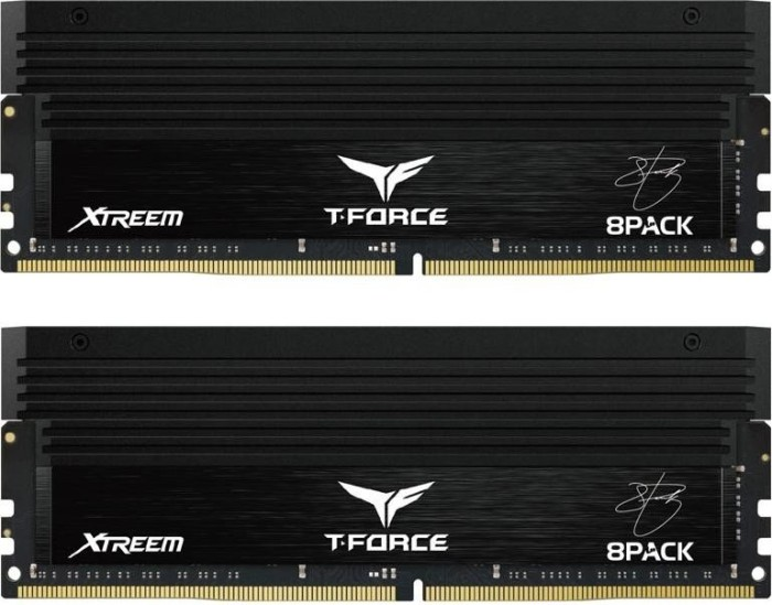 TeamGroup Xtreem 8Pack Edition DIMM Kit 16GB, DDR4-4000, CL18-19-19-39 (TXBD416G4000HC18GDC01)