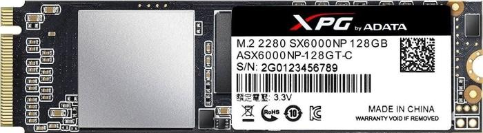 ADATA XPG SX6000 128GB, M.2 (ASX6000NP-128GT-C)