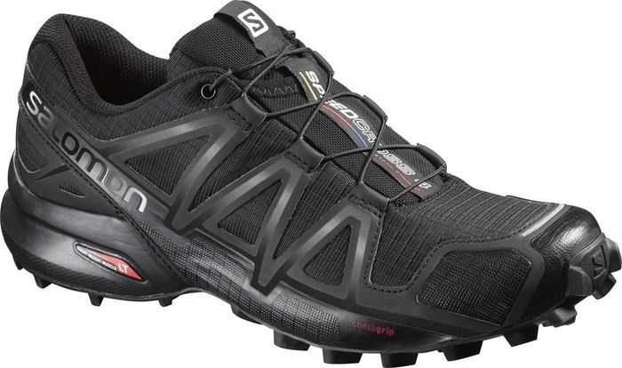 wholesale dealer 5dcf7 f330a Salomon Speedcross 4 black black metallic (Damen) (383097)