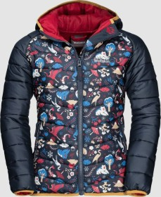 Jack Wolfskin Zenon Print Jacke dark lacquer red all over (Junior) (1608141-7908)