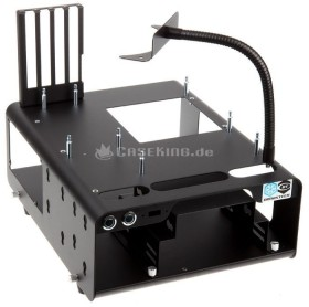 DimasTech Bench/Test Table Nano schwarz (BT139)