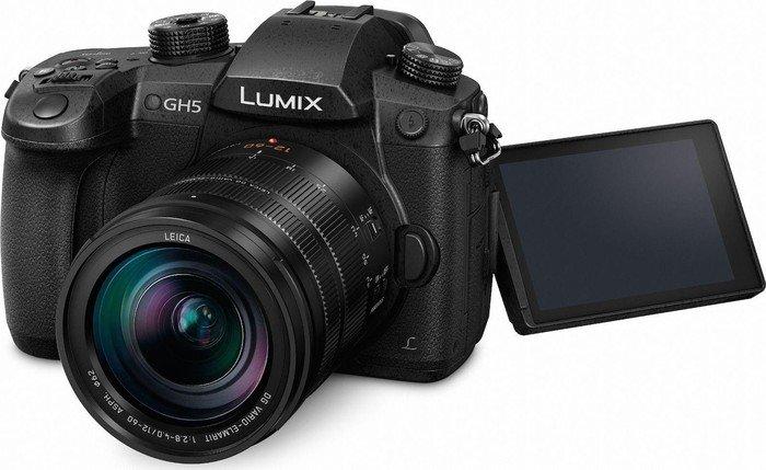 Panasonic Lumix DC GH5 black with lens DG vario Elmarit 12-60mm 2.8-4.0 ASPH (DMC-GH5L)