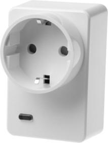Lupus Electronics Lupusec Funksteckdose mit Stromzähler und ZigBee Repeater (12050)