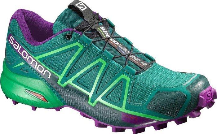 Salomon Speedcross 4 veridian green athletic green (ladies) (383100 ... b397a75878