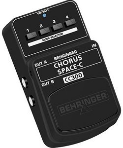 Behringer CC300 3D-chorus Effect pedal -- © Copyright 200x, Behringer International GmbH