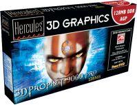 Guillemot / Hercules 3D Prophet 9000 Pro, Radeon 9000 Pro, 128MB DDR, DVI, TV-out, AGP, retail (275/275MHz) (4780210)