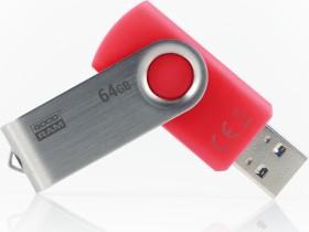 goodram UTS3 rot 64GB, USB-A 3.0 (UTS3-0640R0R11)