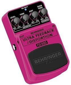 Behringer FD300 feedback/Distortion Effect pedal -- © Copyright 200x, Behringer International GmbH