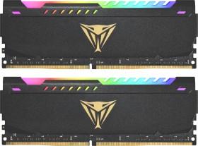Patriot Viper Steel RGB DIMM Kit 64GB, DDR4-3200, CL18-22-22-42 (PVSR464G320C8K)