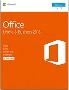 Microsoft Office 2016 Home and Business, PKC (deutsch) (PC) (T5D-02808)