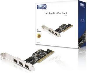 Sweex FW005V2, 4x FireWire, PCI