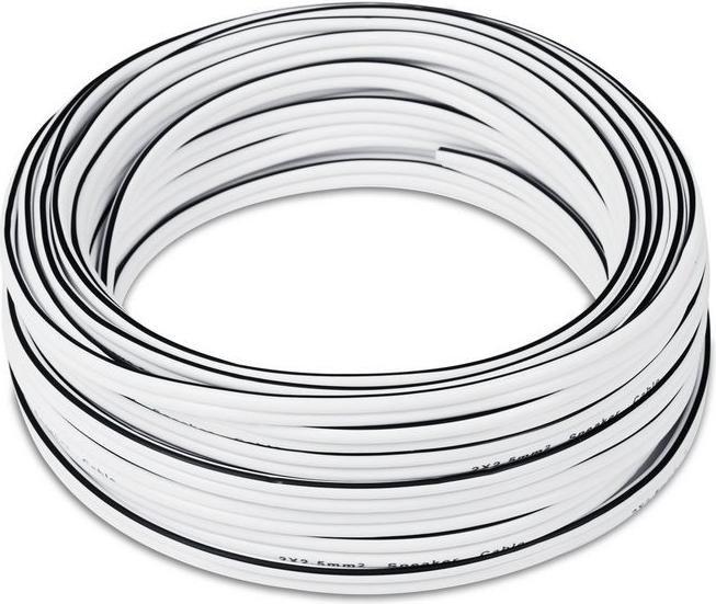 Teufel loudspeaker cable 2x 2.5mm² 15m white (C2515S)