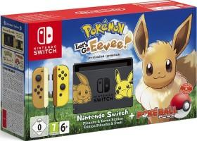 Nintendo Switch - Pokémon: Let's Go - Evoli! Bundle schwarz/braun/gelb (2500566)