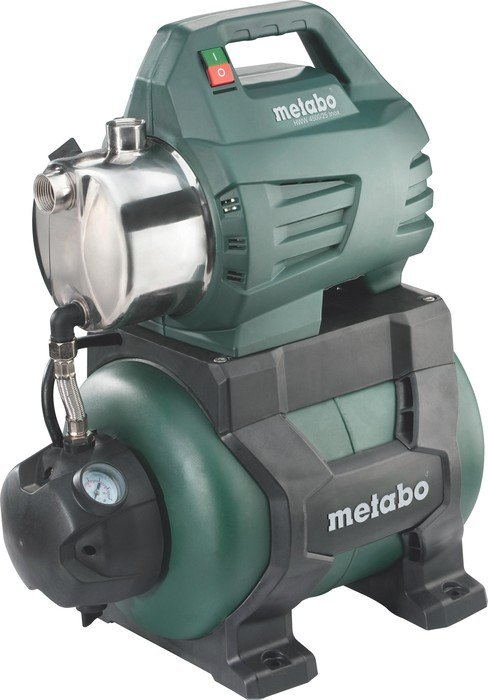 Metabo HWW 4500/25 stainless steel electric pressure tank unit (600972000)