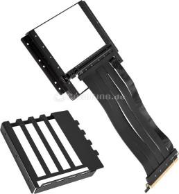 Lian Li Riser Card inkl. PCI-Slot Blende für PC-O11 Dynamic, schwarz (O11D-1)