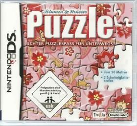 Puzzle - Blumen und Muster (DS)