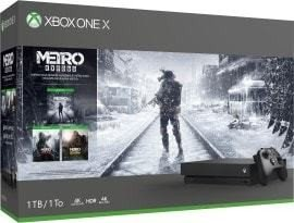Microsoft Xbox One X - 1TB Metro Saga Bundle schwarz