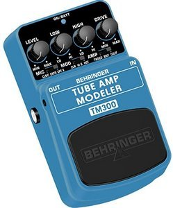 Behringer TM300 Tube Amp Modeler -- © Copyright 200x, Behringer International GmbH